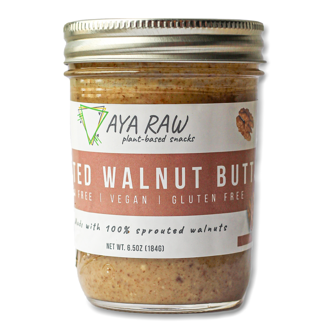 Sprouted Walnut Butter