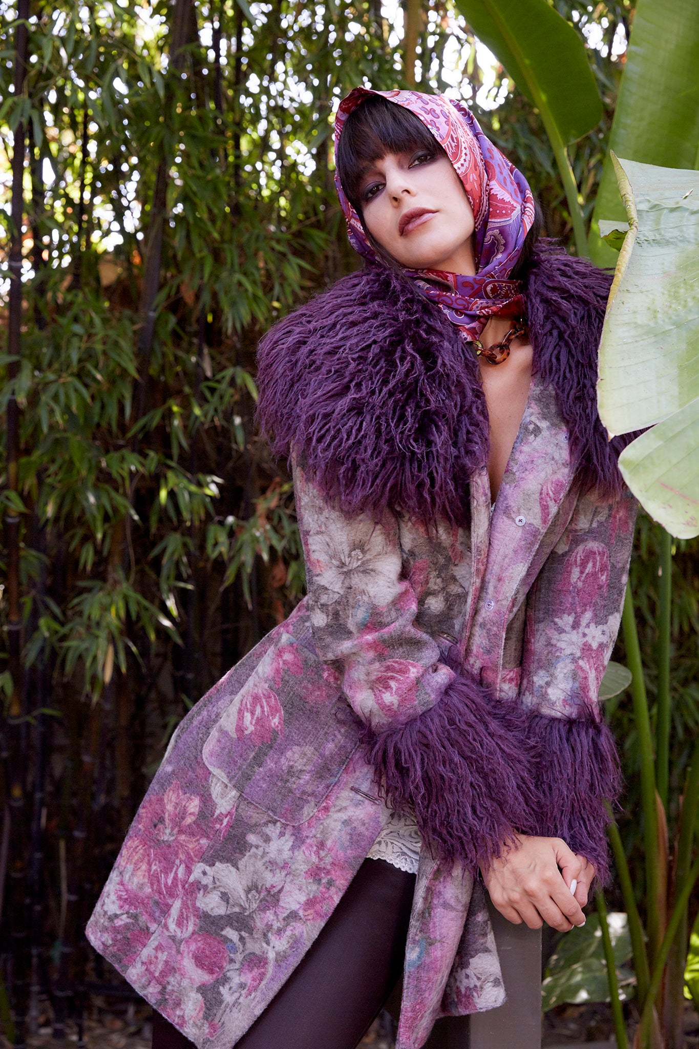 Plum Paris Coat