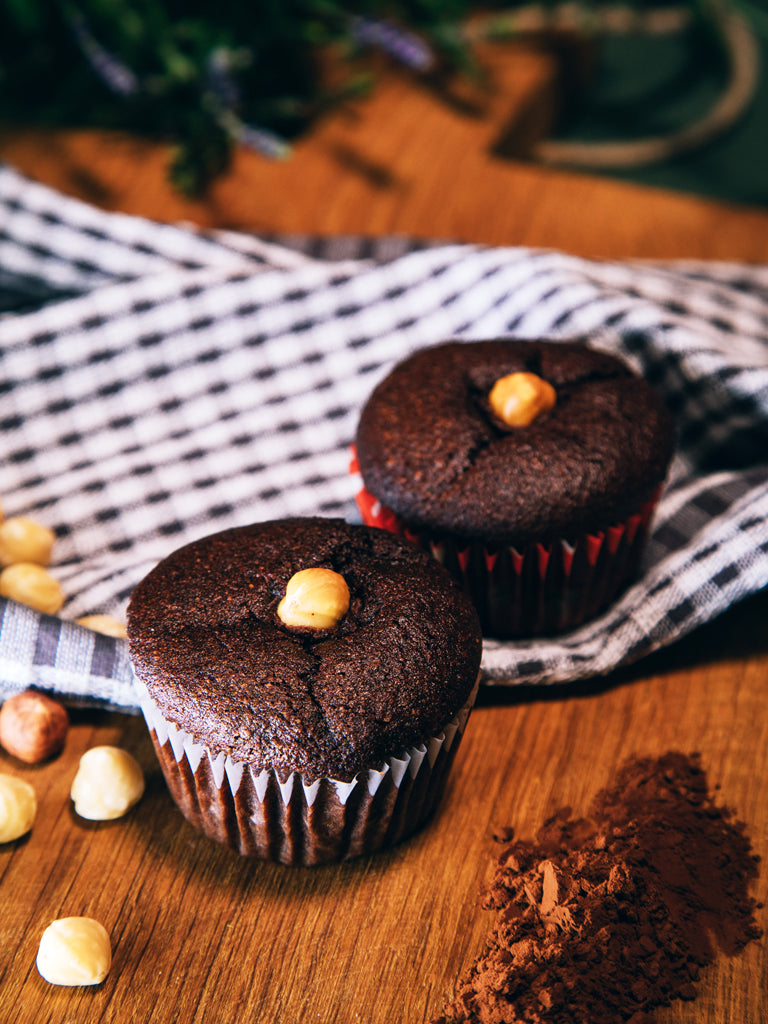 Muffin hazelnut 4 pcs