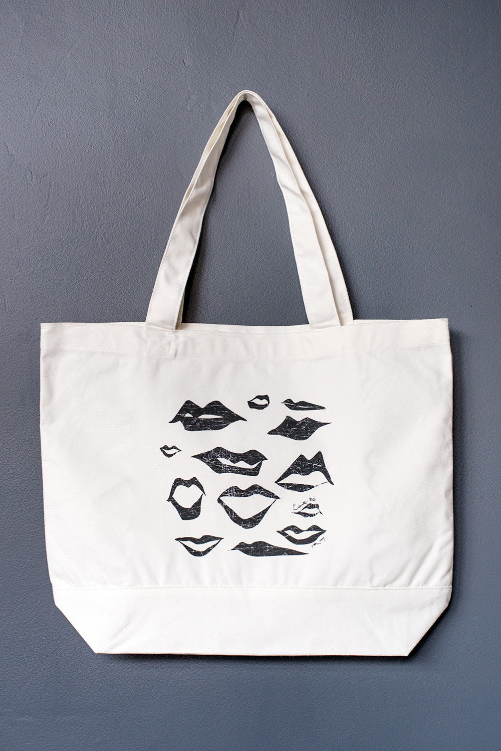 "tote bag ""Lips"""