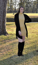 Load image into Gallery viewer, Mustard Sweater Dress