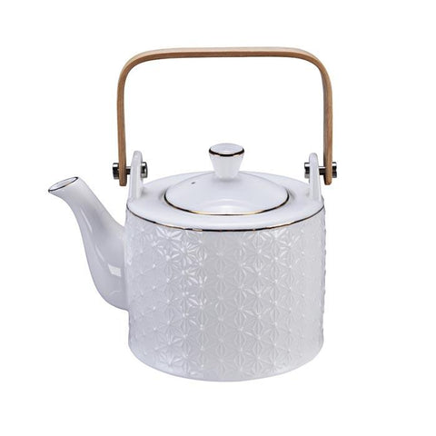 Theepot Nippon White Star + Inox Filter - Giftbox