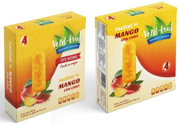 Paleta Mango Chile 4pack