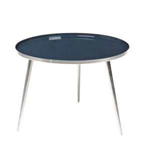 INSIGNIA BLUE 'JELVA' SIDE TABLE