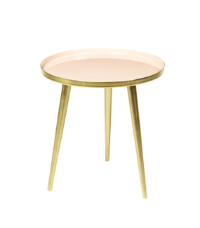'JELVA' SMALL BRASS SIDE TABLE