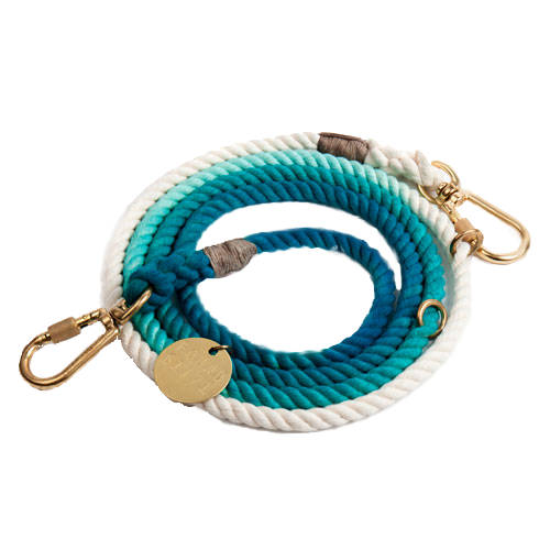 OMBRE ADJUSTABLE ROPE DOG LEAD