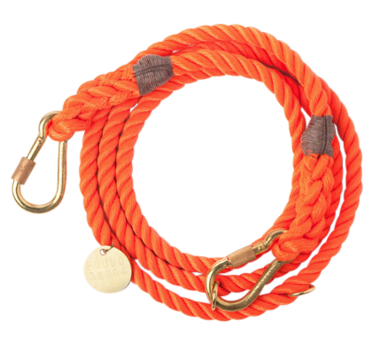 ADJUSTABLE ROPE DOG LEAD