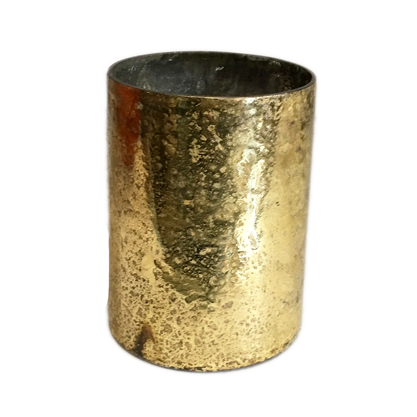 GOLD PAINTED VASE