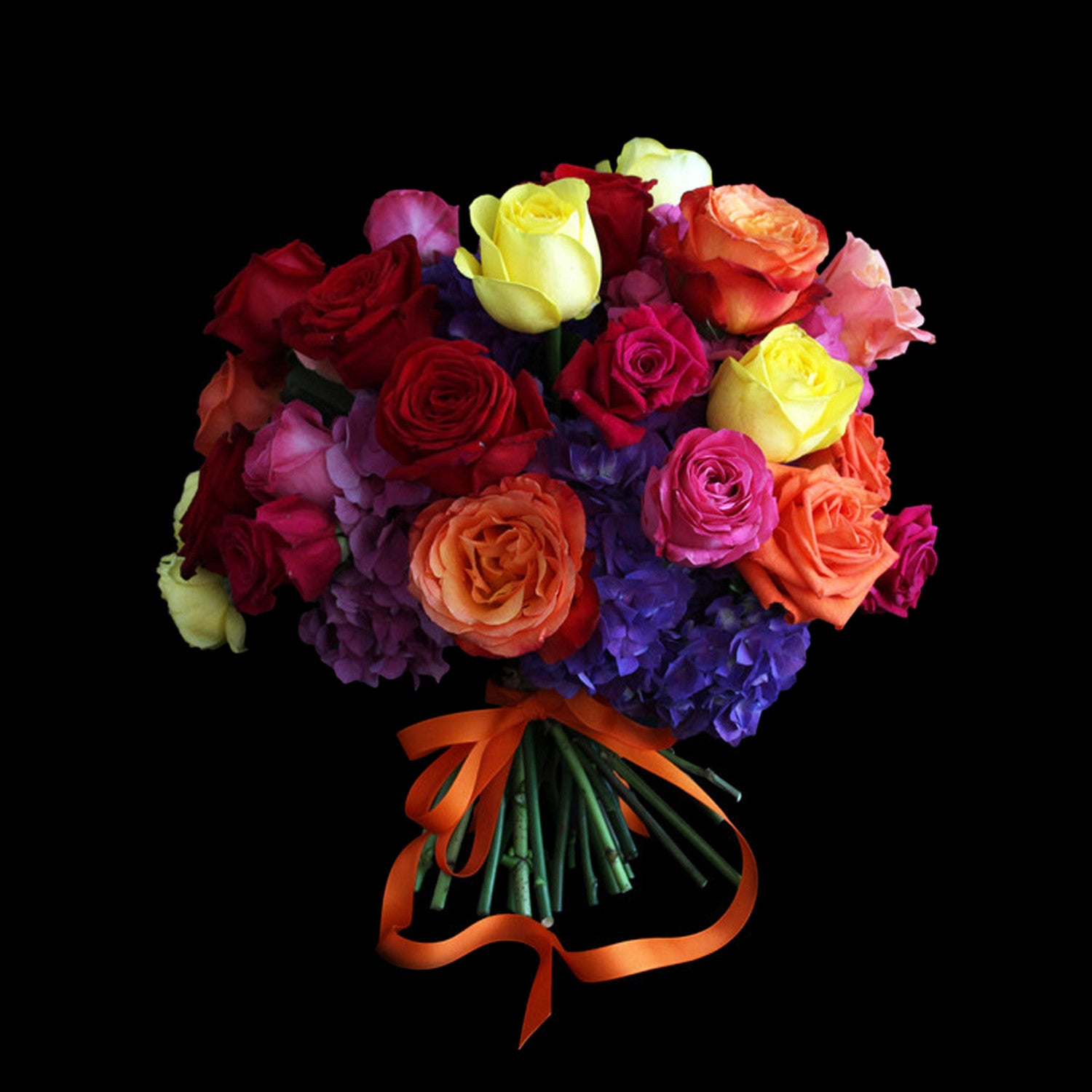 multicoloured bouquet flowers 2