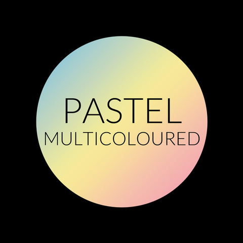 PASTEL MULTICOLOURED