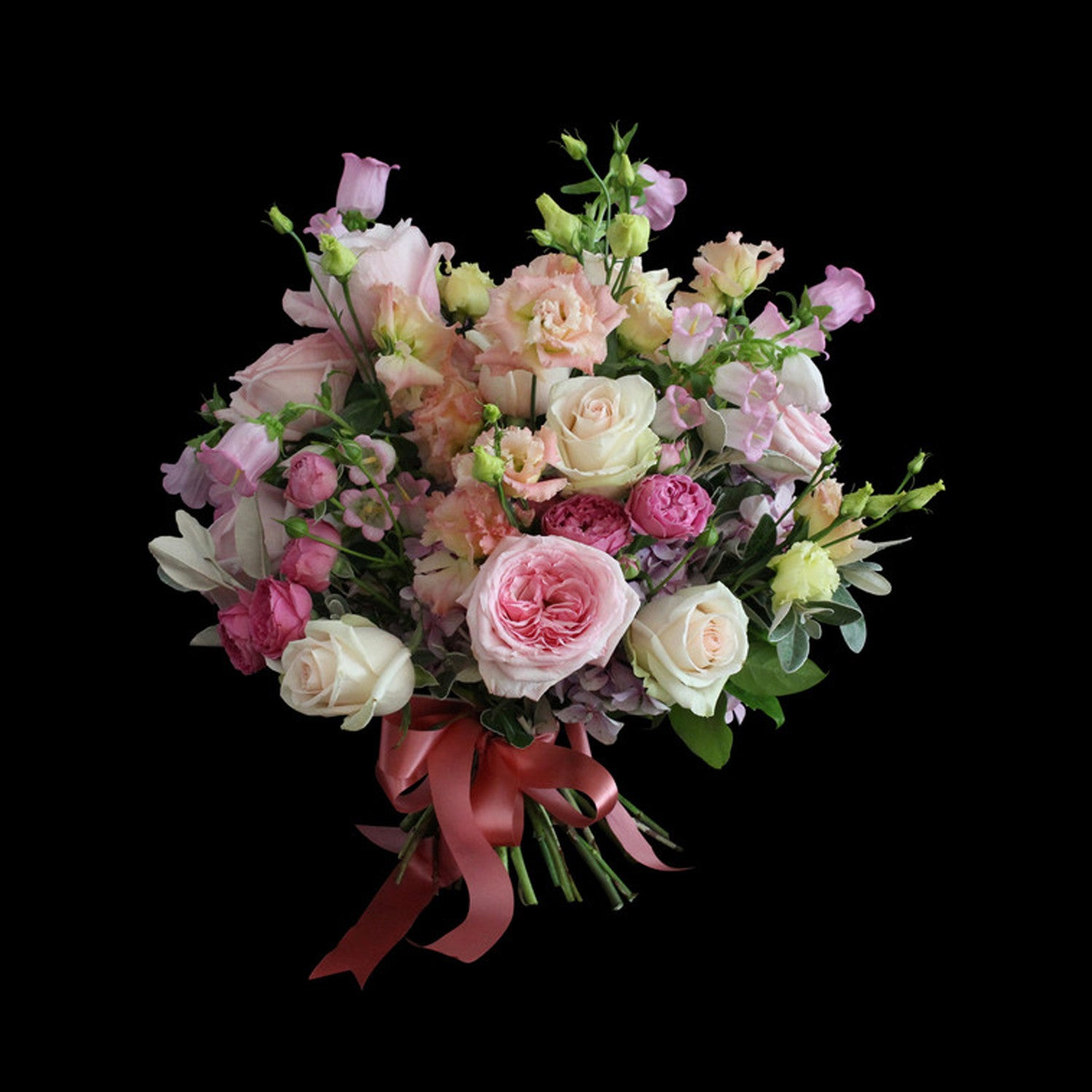 pink bouquet flowers