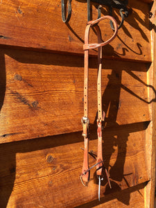 Rolled Ear Headstall