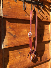Load image into Gallery viewer, Split Ear Latigo Leather Headstall