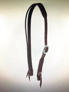 Split Ear Latigo Leather Headstall
