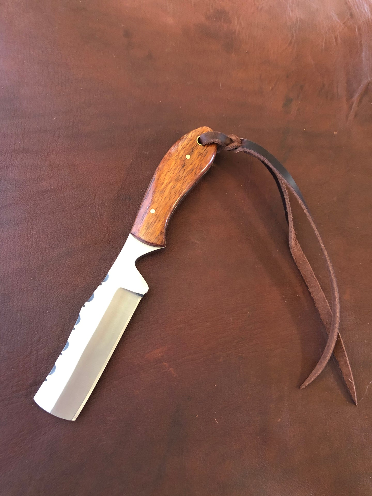Nut Cutter Knife Brown