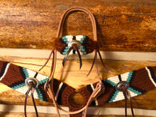 Load image into Gallery viewer, Custom Mohair Headstall