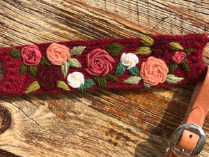 Run For The Roses Mohair Breast Collar