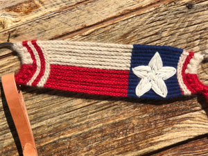 Texas Flag Mohair Breast Collar