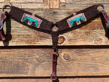 Load image into Gallery viewer, Aztec Thunderbird Mohair Breast Collar