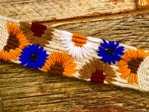 Wildflower Mohair Breast Collar