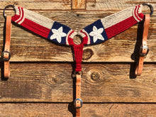 Load image into Gallery viewer, Texas Flag Mohair Breast Collar