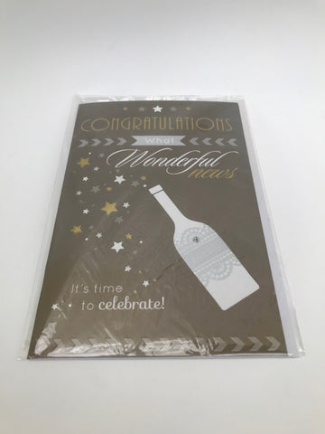 Congratulations (Bubbly) - Gift Card