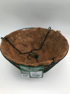 350mm Coco Lined Hanging Basket