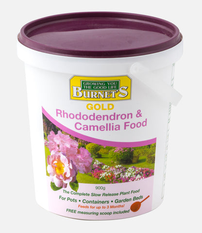 Burnets Gold Slow Release RHODODENDRON & CAMELLIA 900g