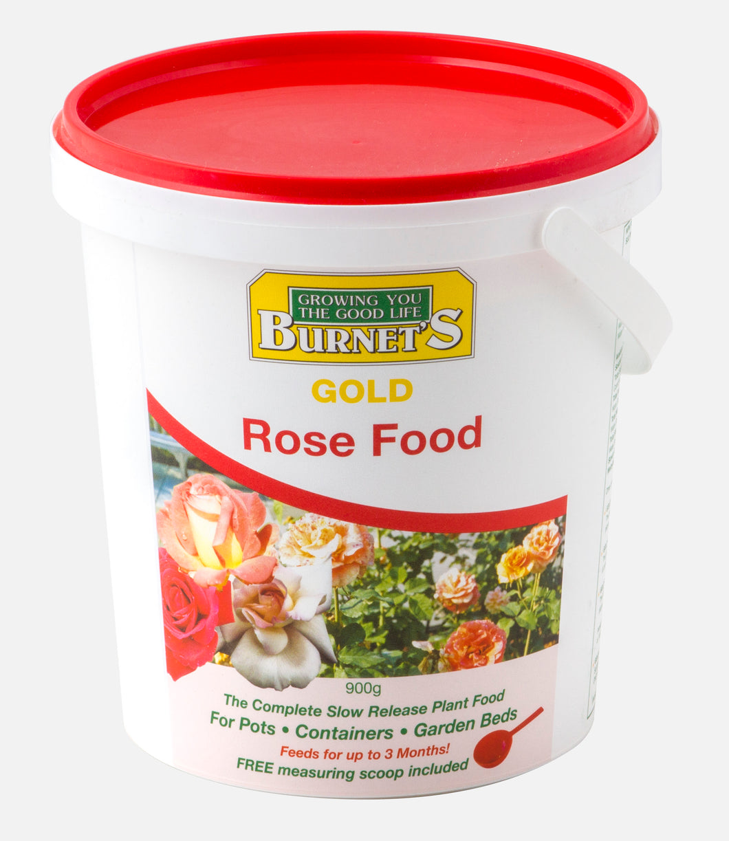 Burnets Gold Rose Slow Release 900g