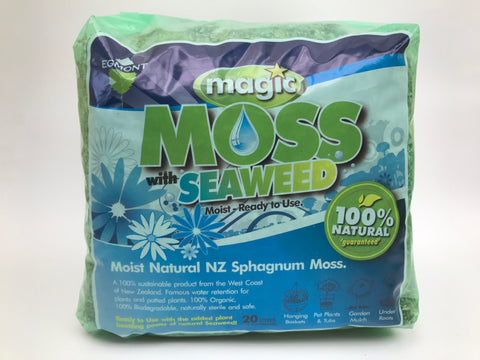 Magic Moss and Seaweed (Sphagnum Peat moss)