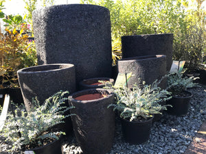 Planter Roxburgh Bubble Black