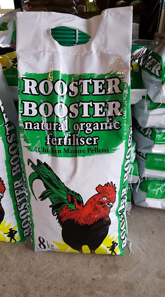 Rooster Booster (Chicken Manure Pellets) 8kg