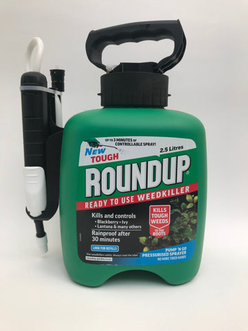 Roundup Tough Pump & Go 2.5L