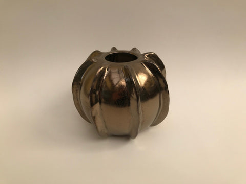 Small Glazed Vase GOLD