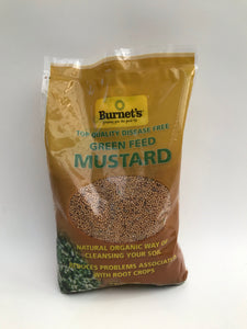 Burnet's Green Feed Mustard