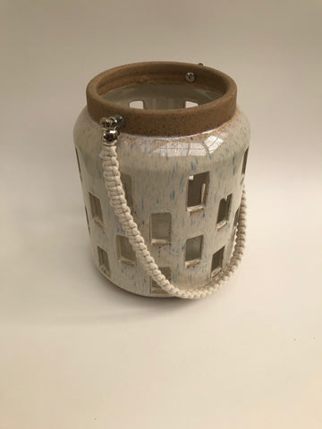 Glazed Ceramic Lantern