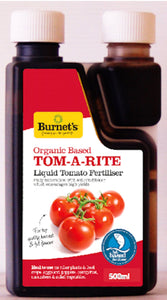 Burnets Tom-a-rite Organic Based Tomato Food 500 ml