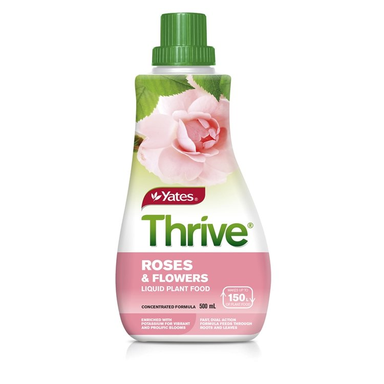 Yates Thrive Roses & Flowers Liquid Plant Food 500mL