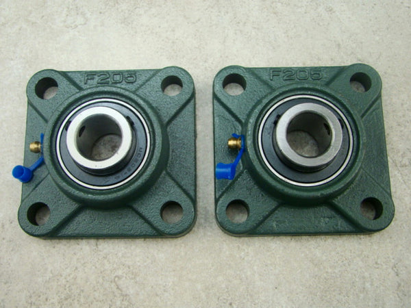 "K & M Krushers - Rock Crusher Replacement Bearings for 14"" Crusher - 7/8"" 4 Bolt Flange"