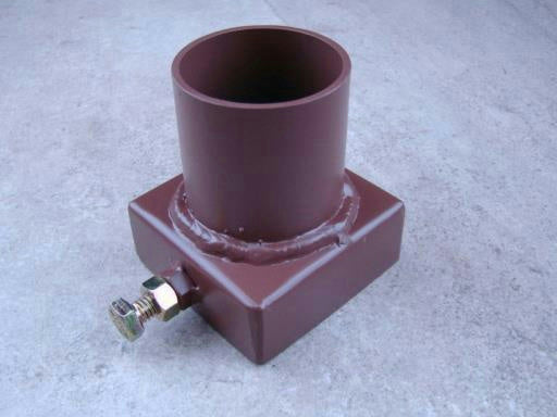 "Rock Crusher Vacuum Attachment for 11"" Crusher - 2"" Exit Port + Hose & Clamps"