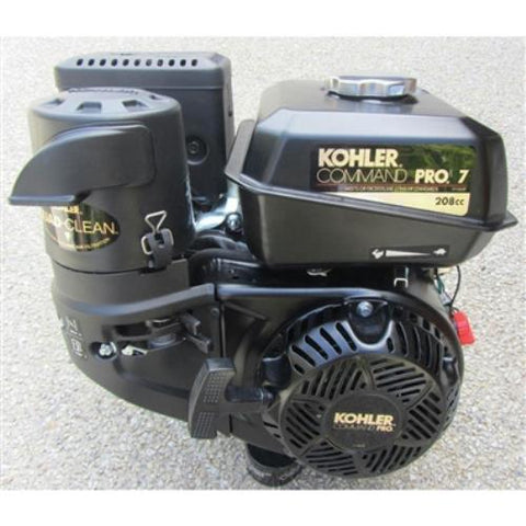 "KOHLER 7HP Gas Motor -4 Stage Air Cleaner - K&M Crushers - OEM 11"" & 14"" Crushers"