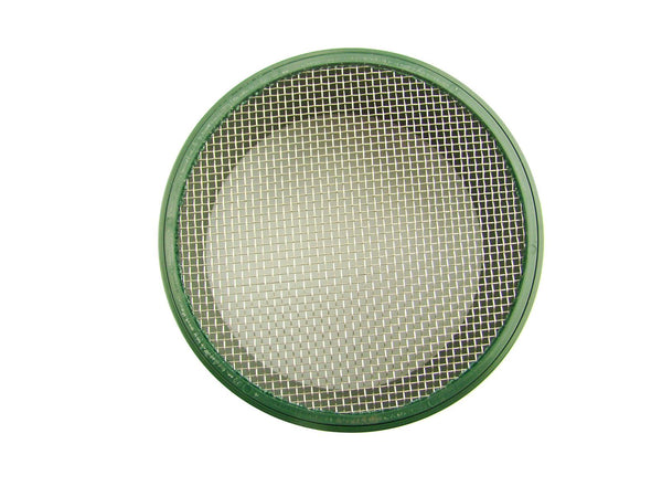 "Set of 8 - 5-5/8"" Screens 1/4""-1/10""-1/20""-1/30""-1/40""-1/50""-1/60""1/100"" Gold Pan"