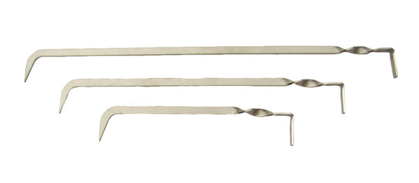 "Set of 3 12""-18""-24"" Claw & Scoop Crevice Tools-Gold-Prospecting-Rock-Mining"