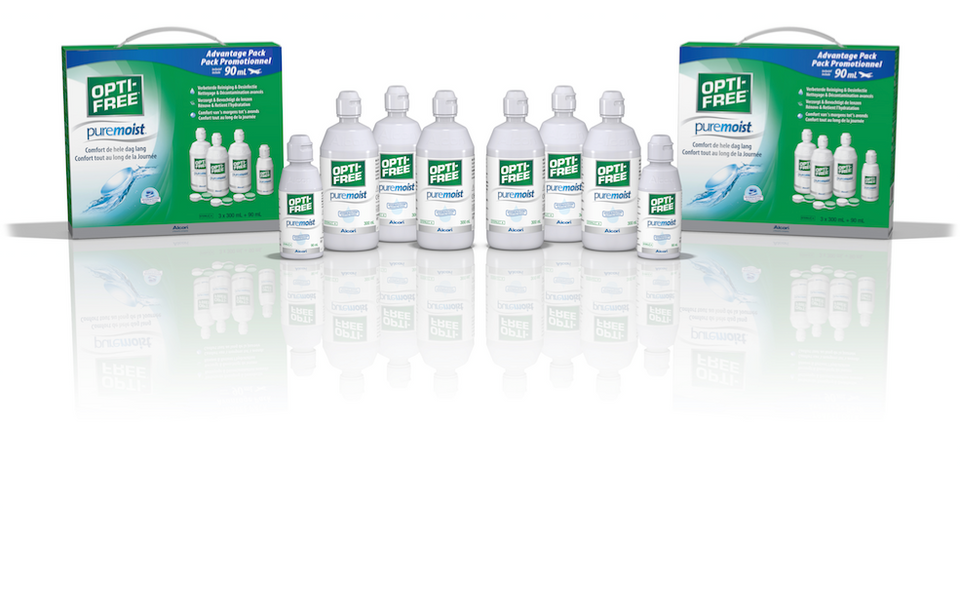 Alcon Opti-Free puremoist Advantage Pack