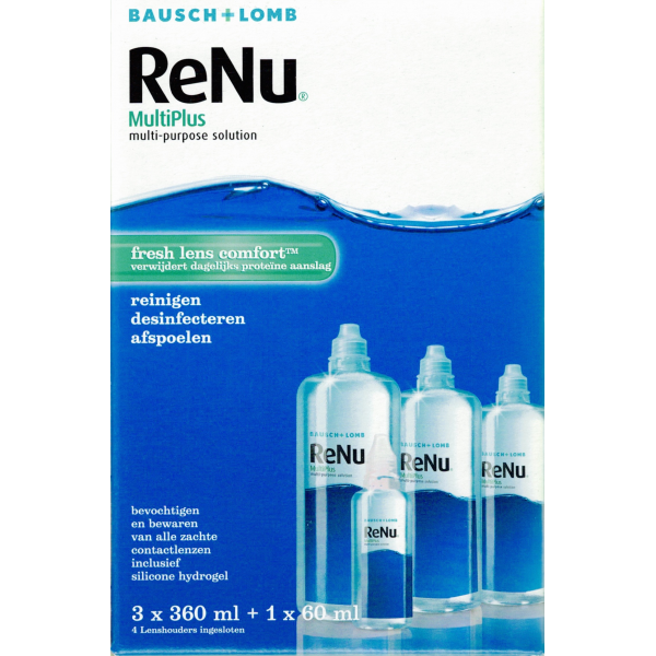 Renu Multiplus Fresh Lens Comfort Advantage Pack