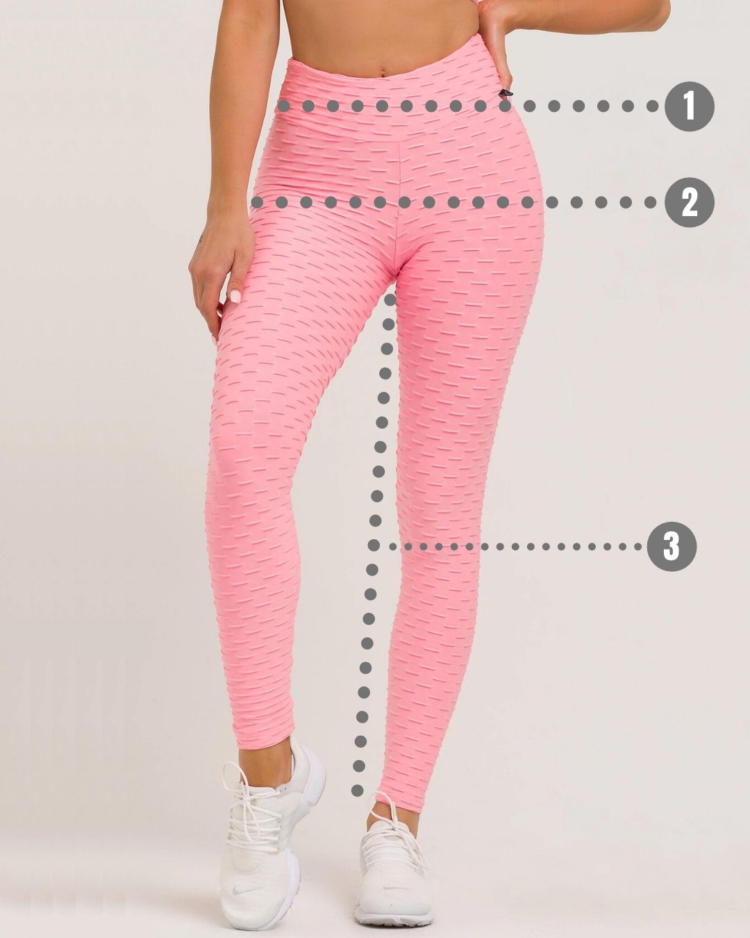 Size guide - Anti-cellulite Leggings BurnFit