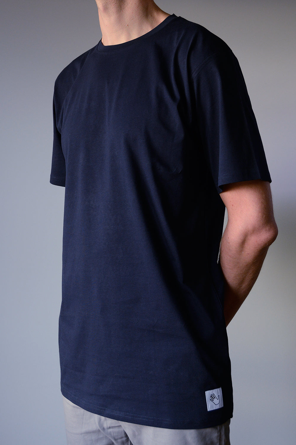Long Navy T-shirt