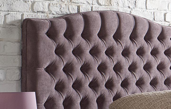 Chesterfield Curved Headboard