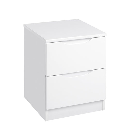 Richmond White Gloss Bedside Table