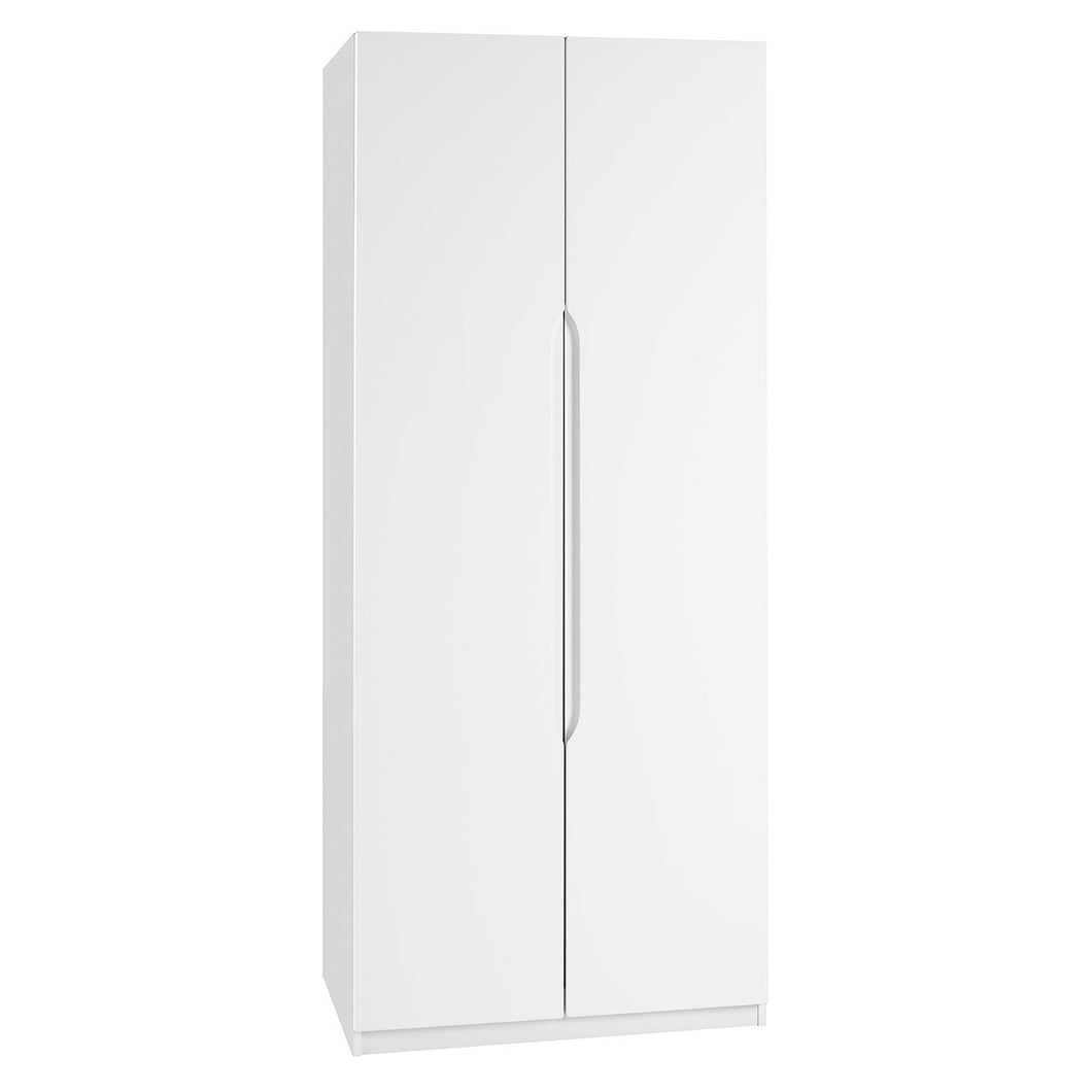 Richmond White Gloss Wardrobe